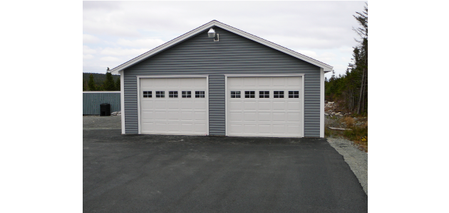 two door garage